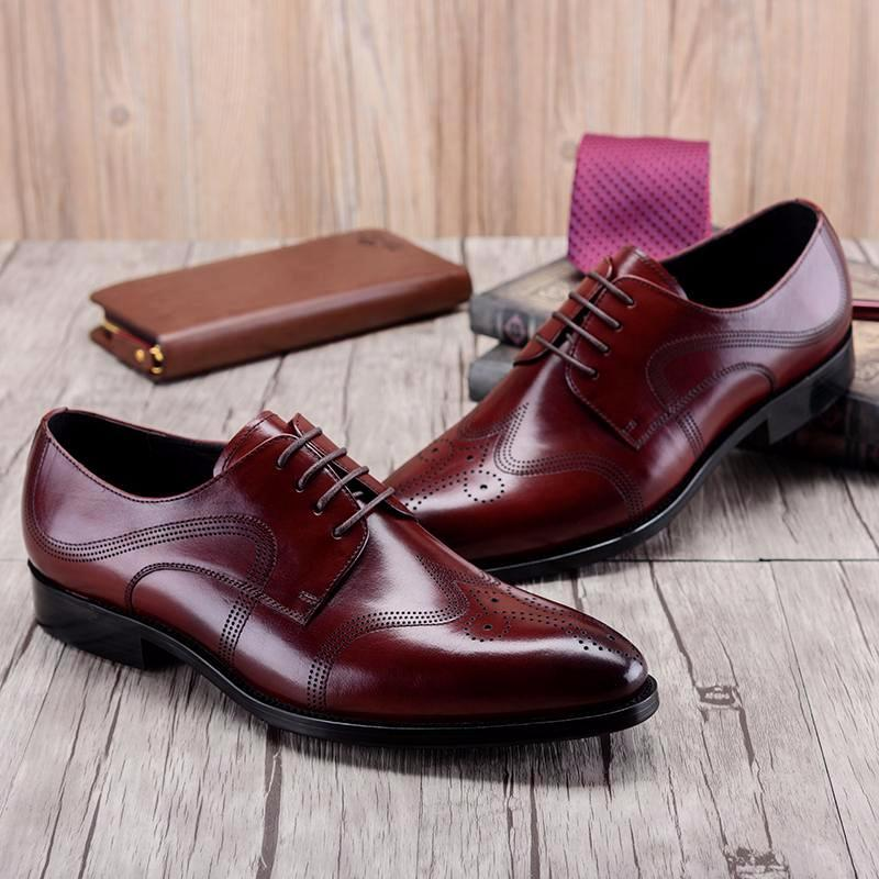 Derby Wingtip Brogue - Brown