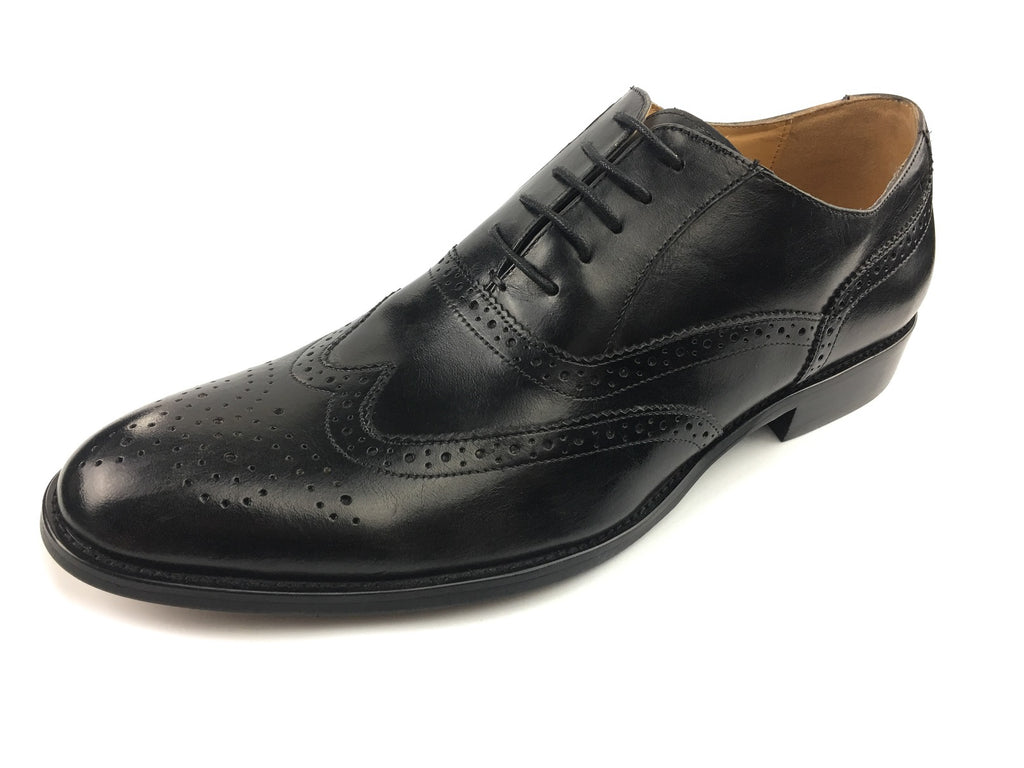 Wingtip Oxford Brogue Bespoke - Black