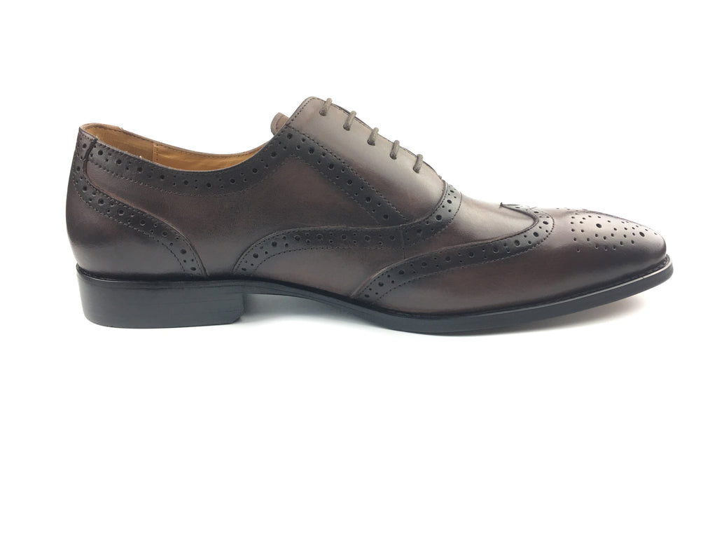 Brogue Wingtip Oxford Bespoke - Brown