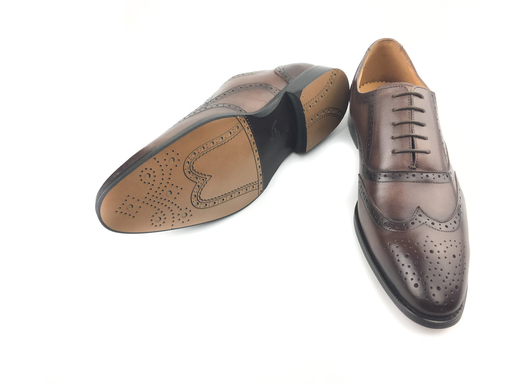 Brogue Wingtip Oxford - Brown