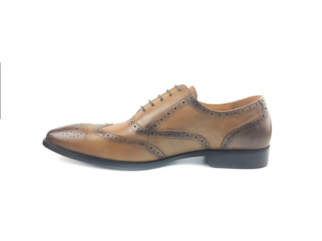 Oxford Brogue Wingtip - Brown