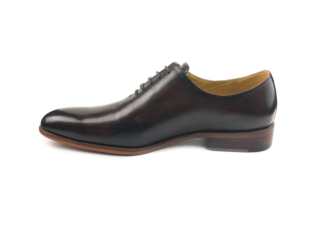 Plain Toe Wood Oxford - Brown