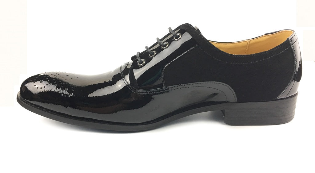 Glossy Patent Leather - Black