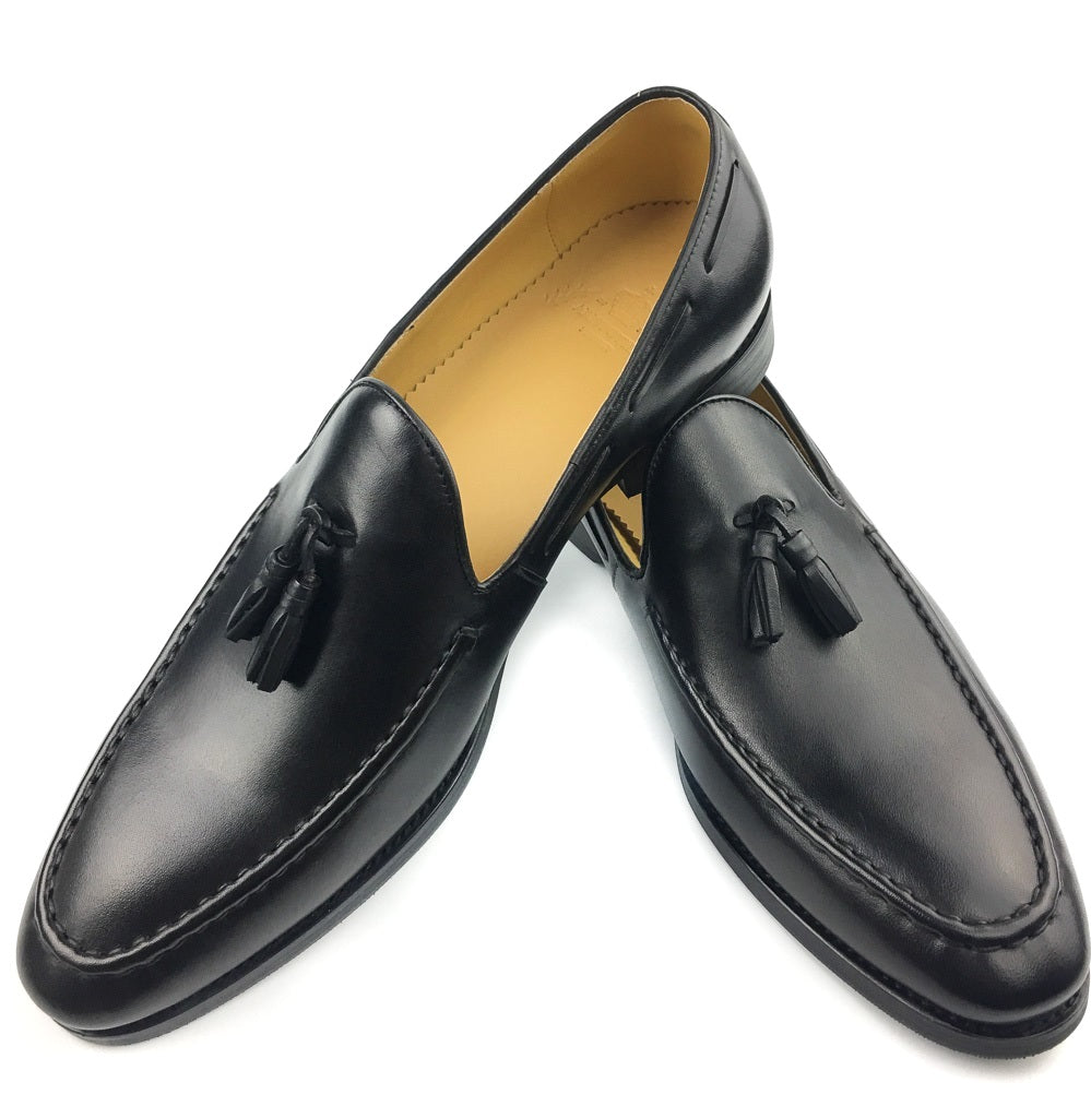 Tassel Loafer - Black