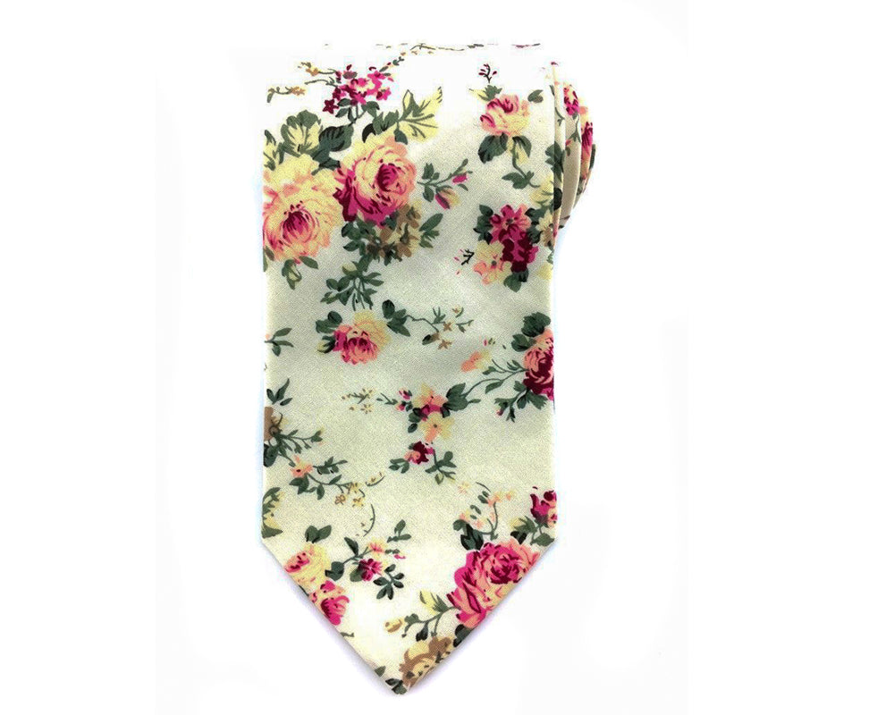 wedding cotton necktie