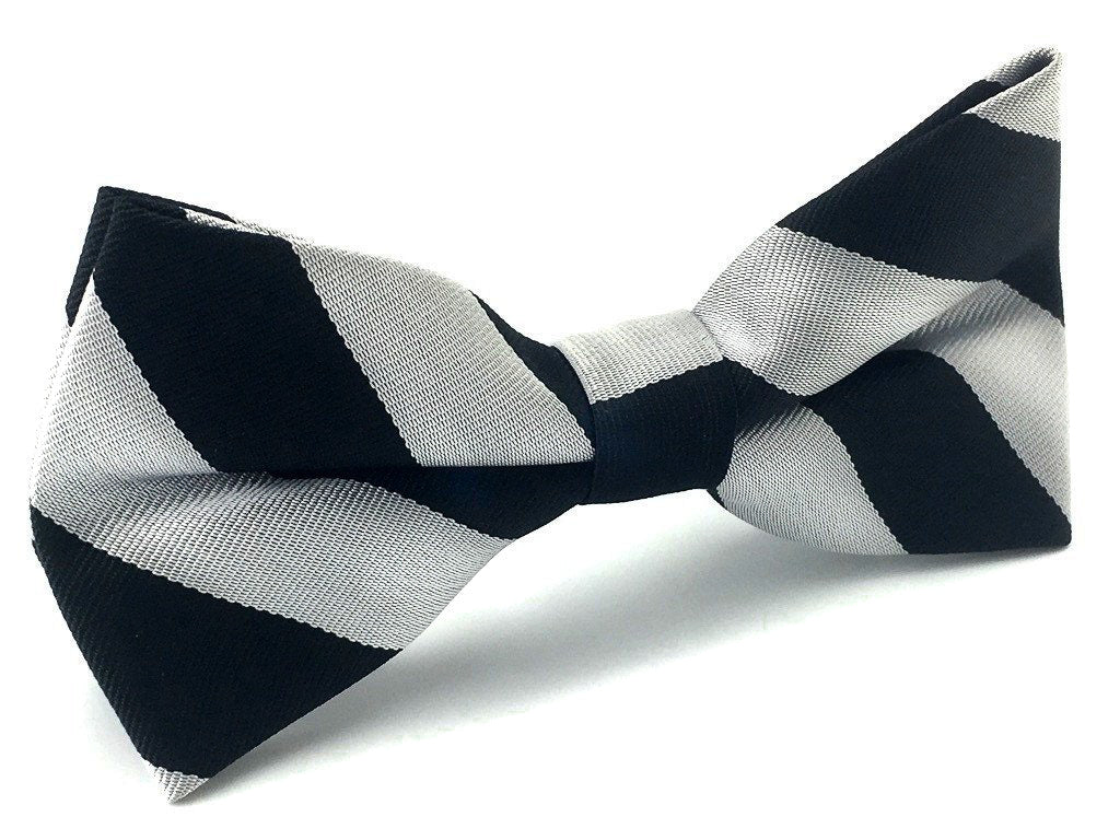 wedding stripe bowtie