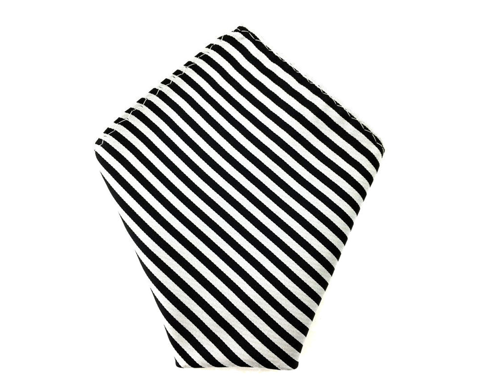 striped gift pocket square