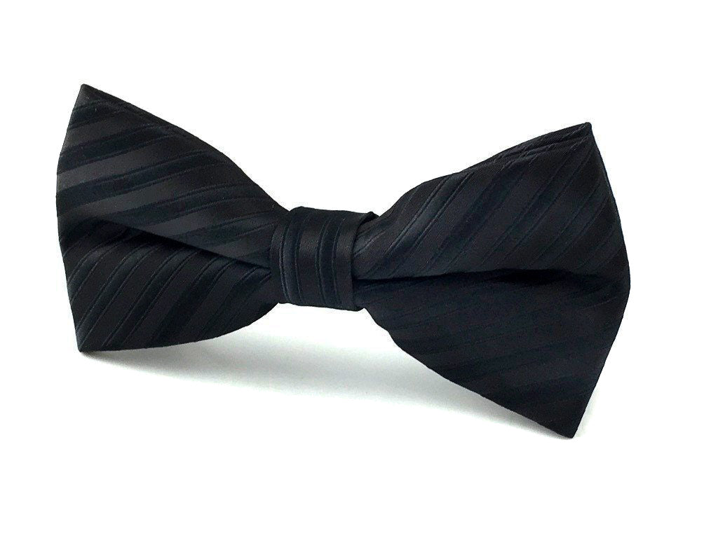 stripe wedding bowties