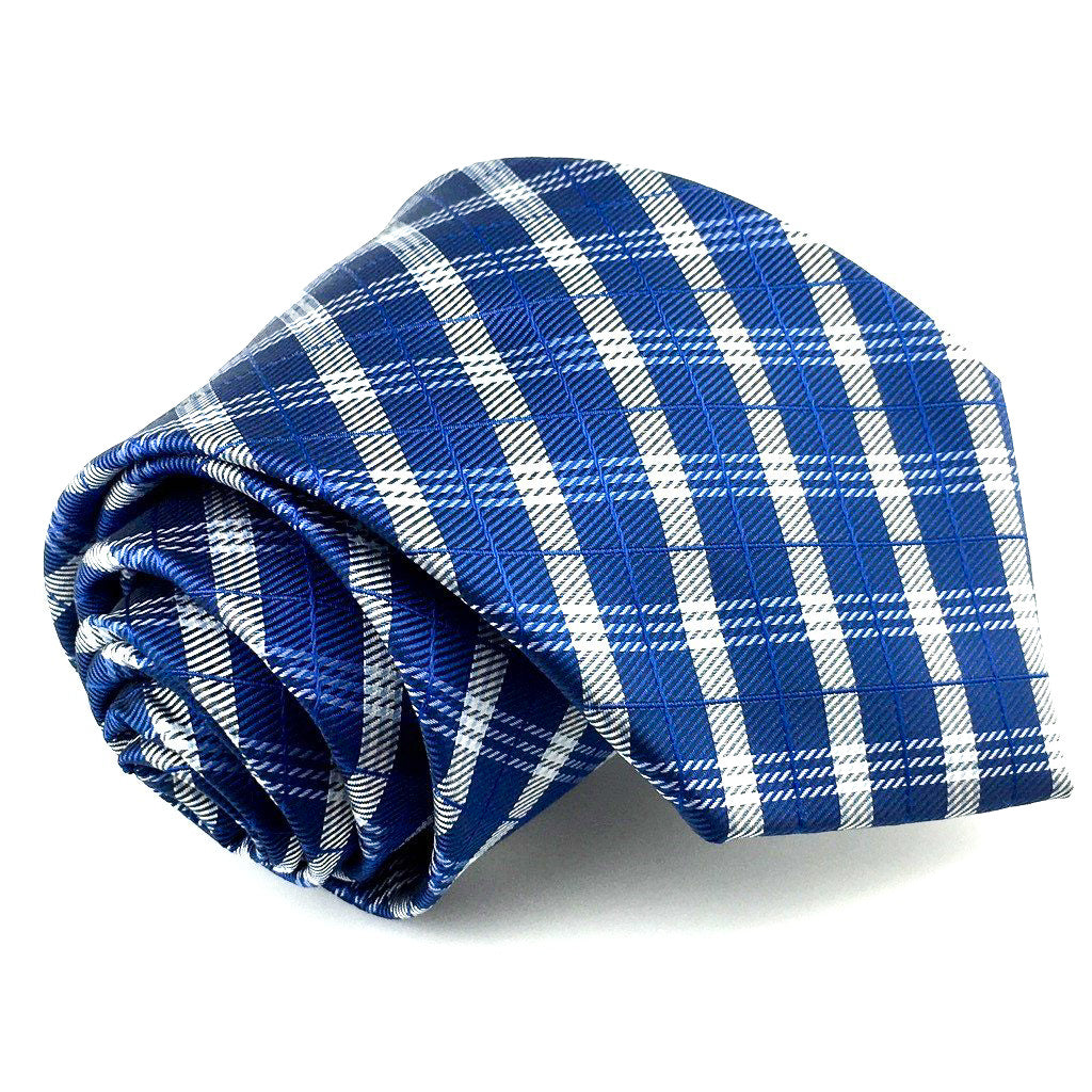 blue groomsmen neck tie