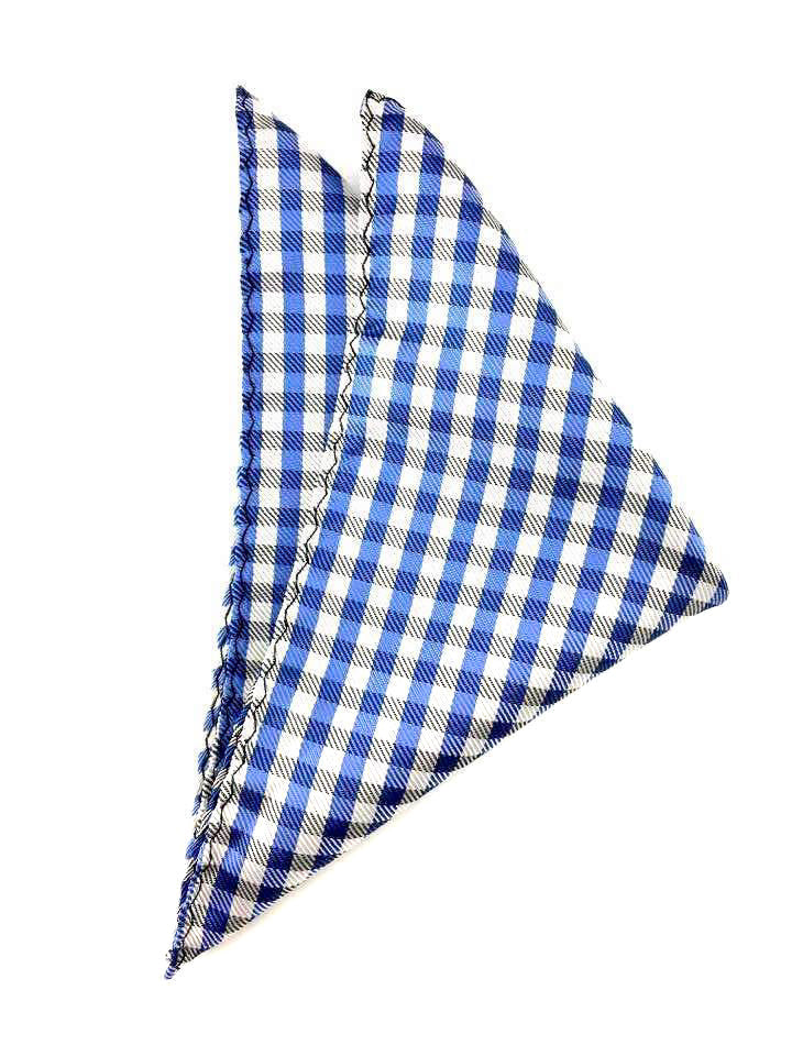 wedding gingham hankies