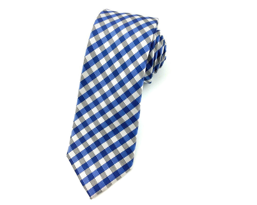 wedding gingham ties