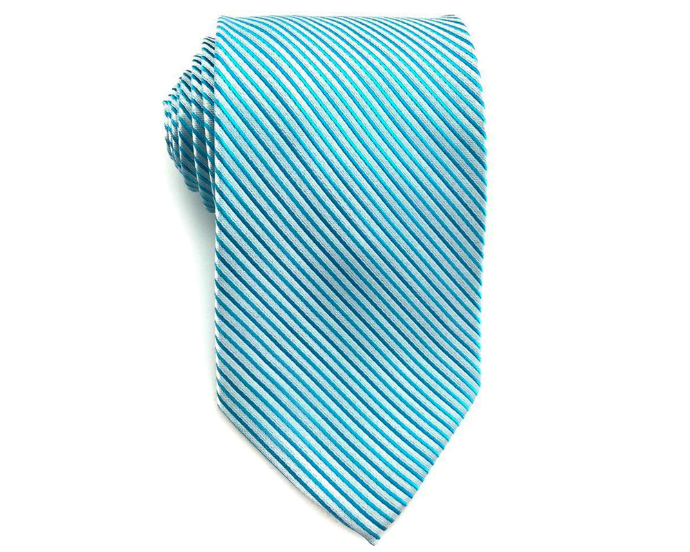 Blue Stripe Mens Necktie