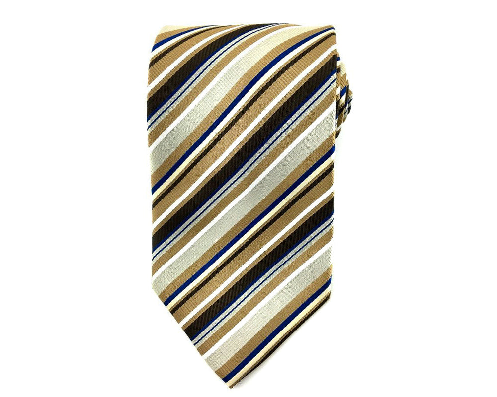 brown stripe ties
