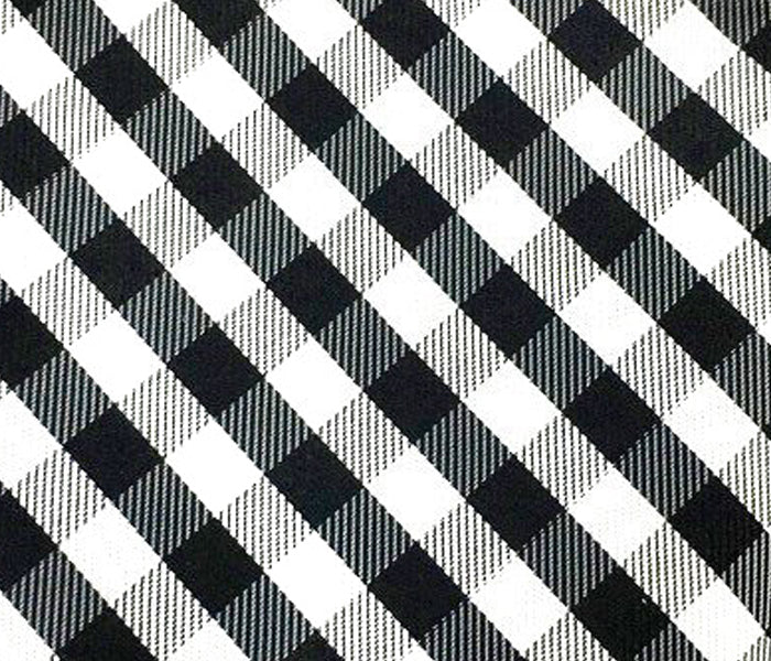 black white check swatch