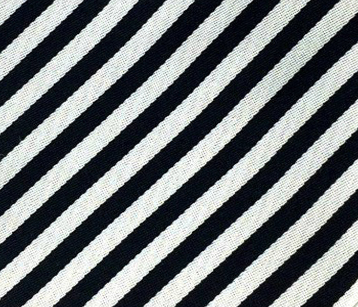 black striped swatch