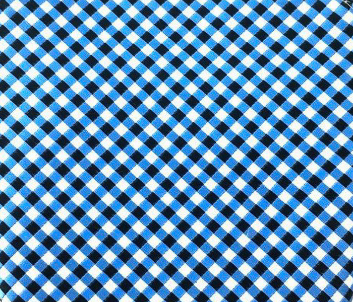 blue checkered swatch