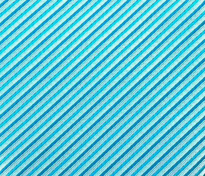 blue striped accent swatch