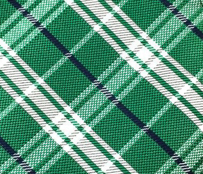 green check plaid swatch