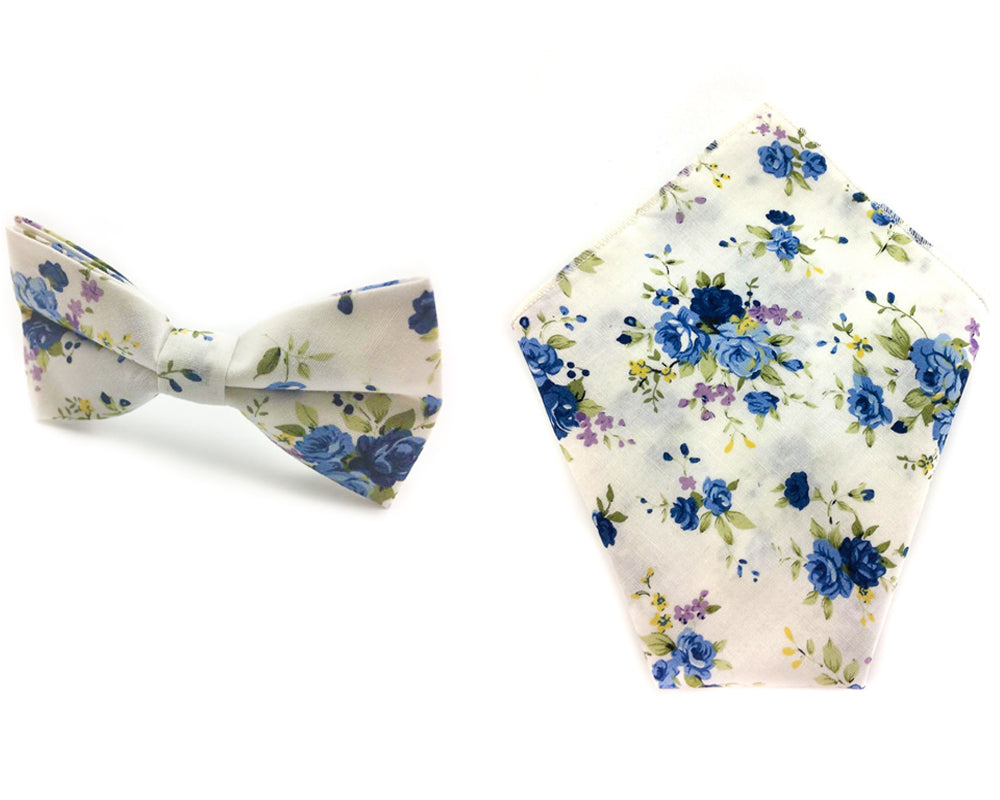 cotton bowtie & hankies