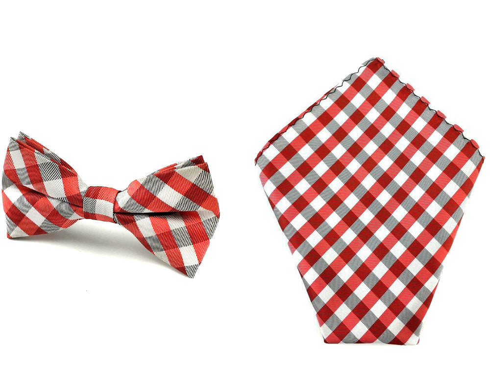 gingham bowtie hankies
