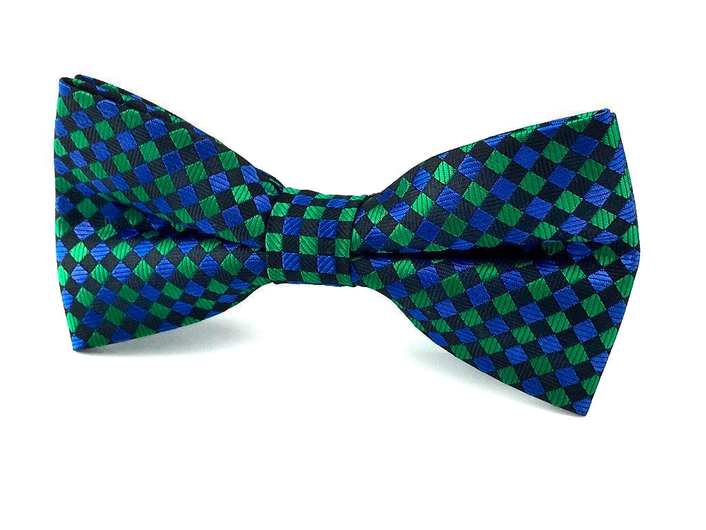 green squares bowtie