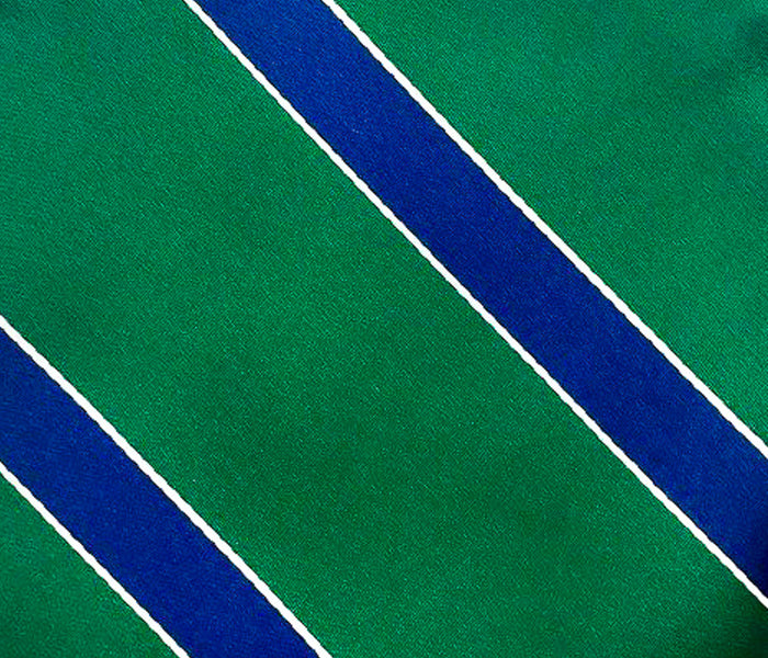 green blue stripe swatch