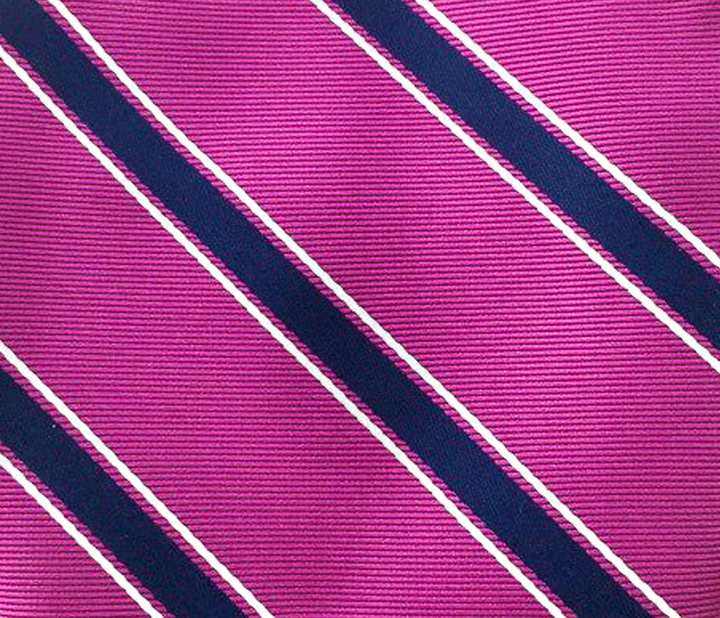 magenta striped swatch