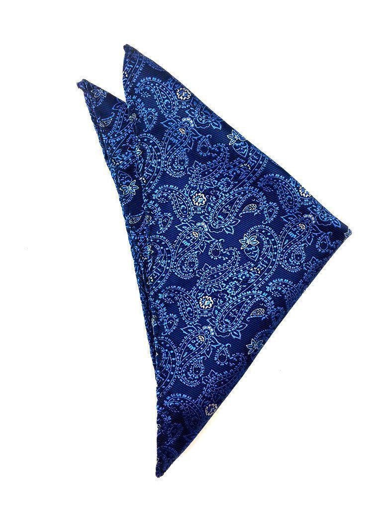 blue wedding handkerchief