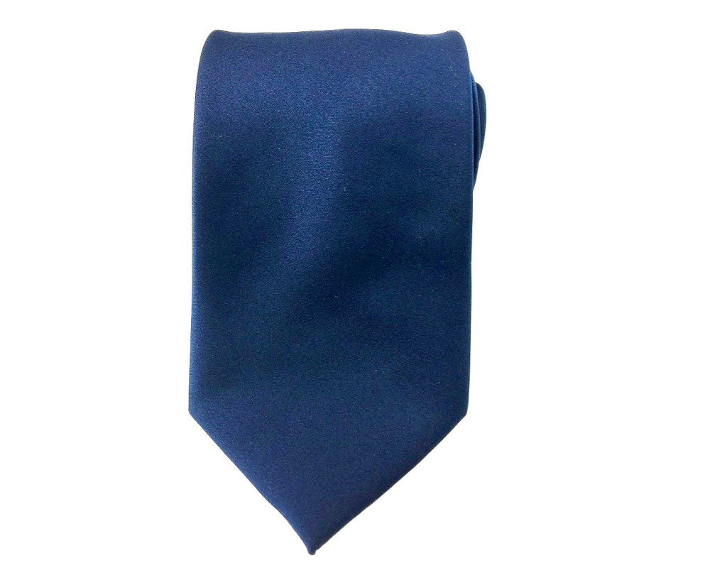 plain blue ties