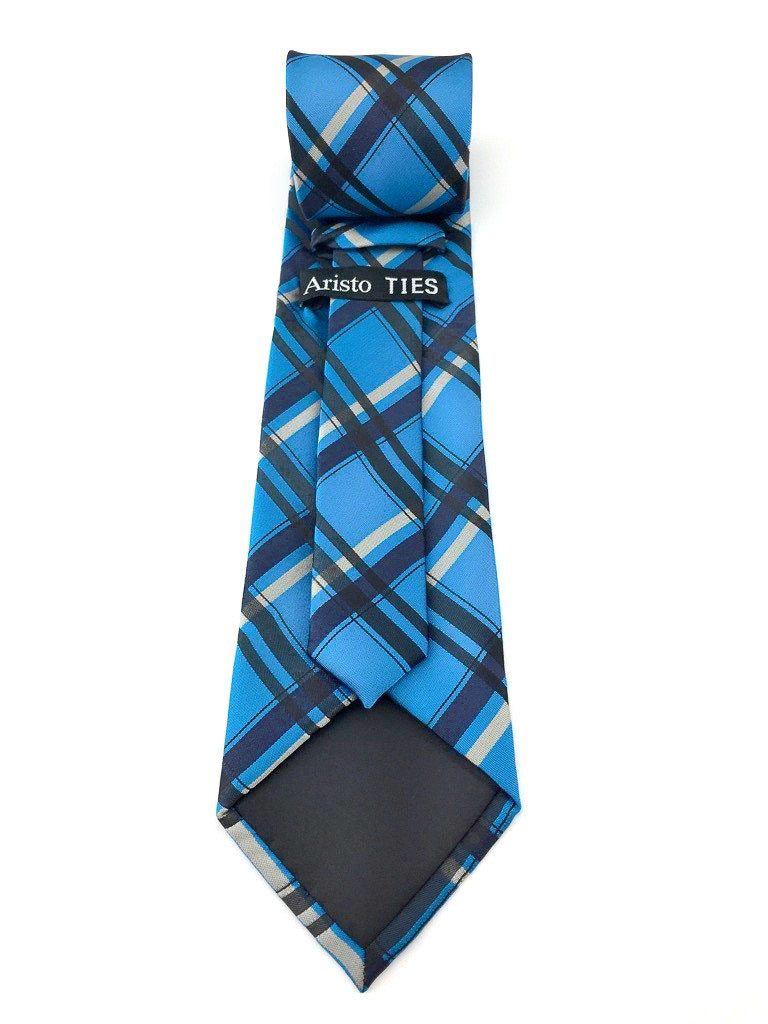 black check ties