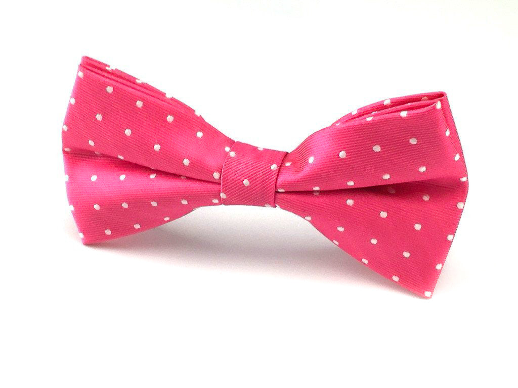 wedding polka bowtie