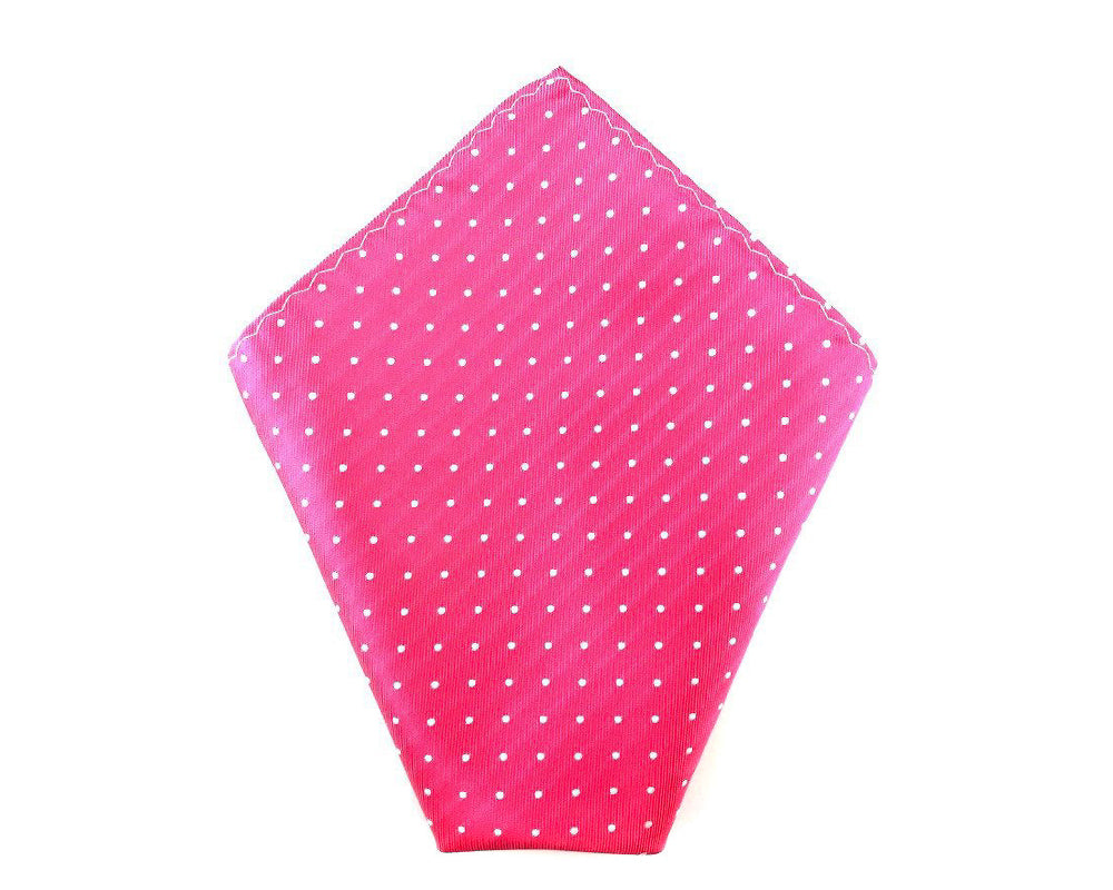 pink wedding hanky