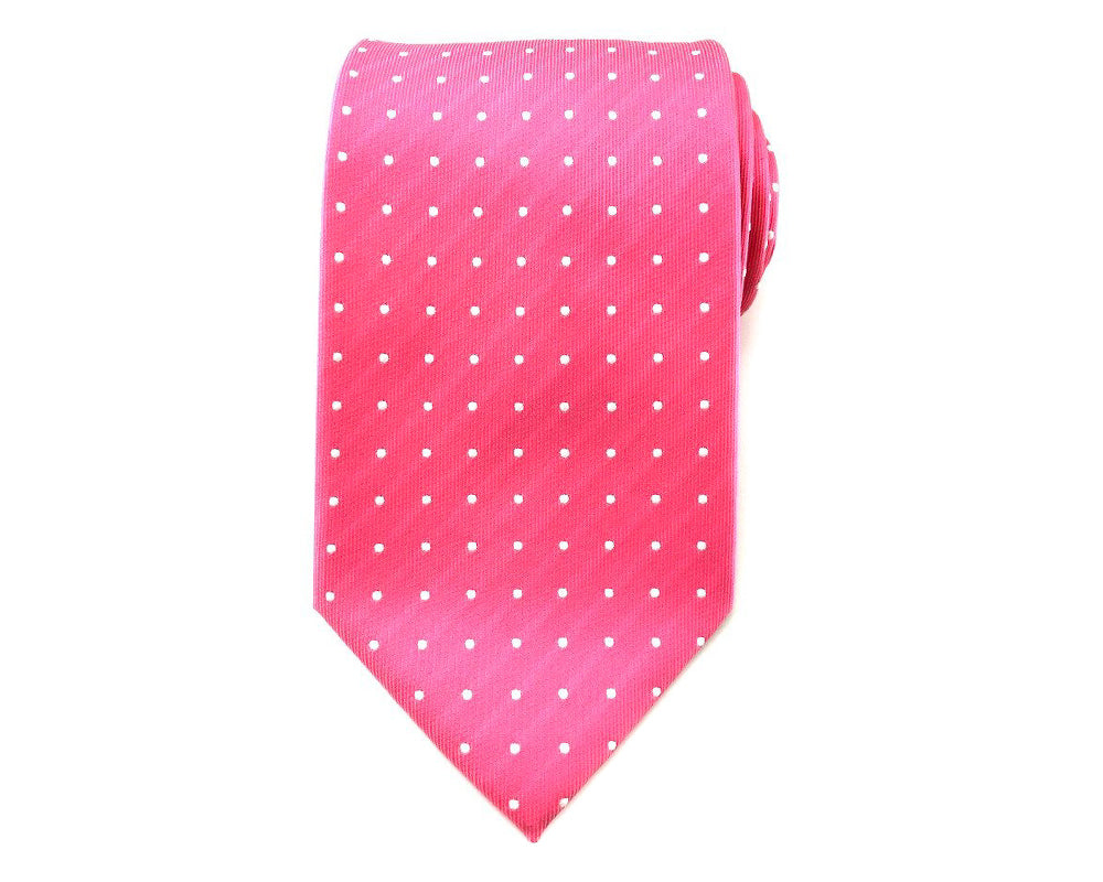 polka dots neck ties