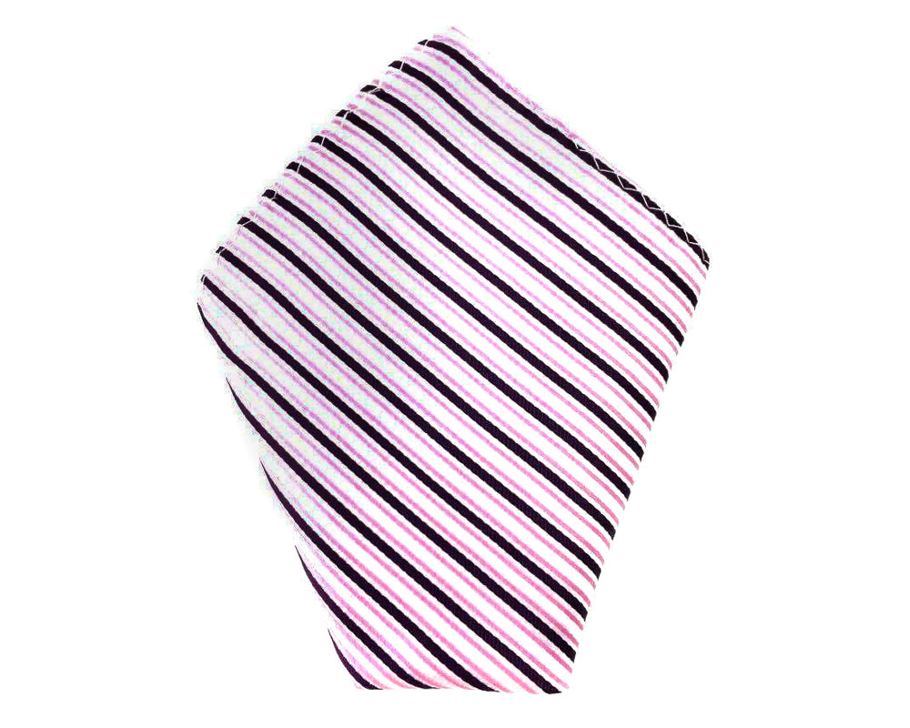 stripe wedding hanky