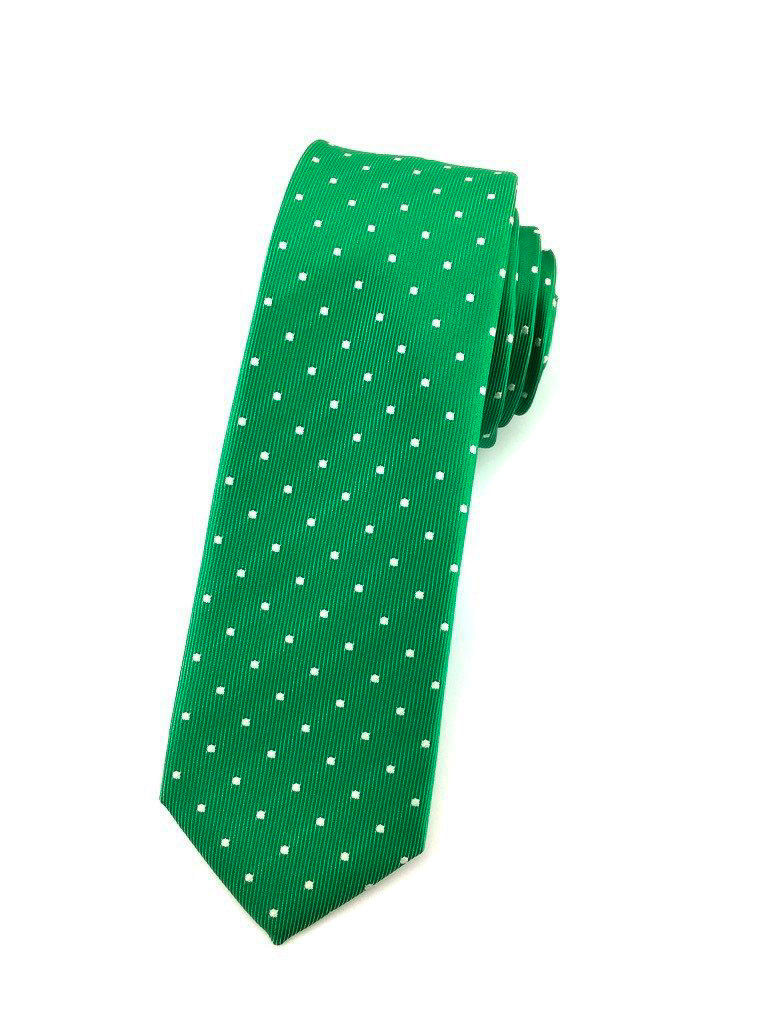 polka dot slim ties