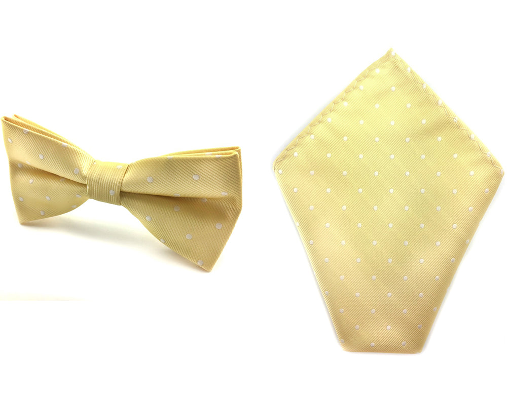 polka dot bowtie hankies
