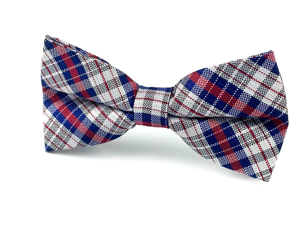 wedding check bowtie