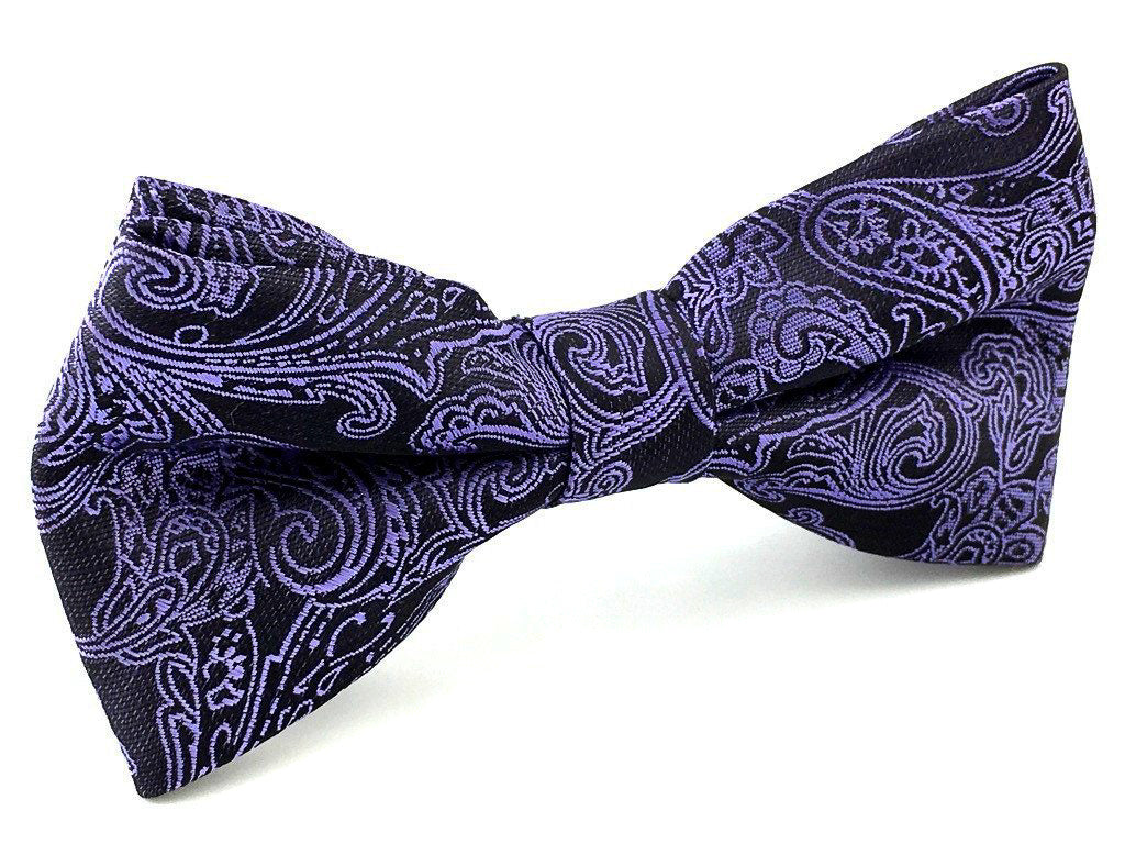 paisley wedding bowties