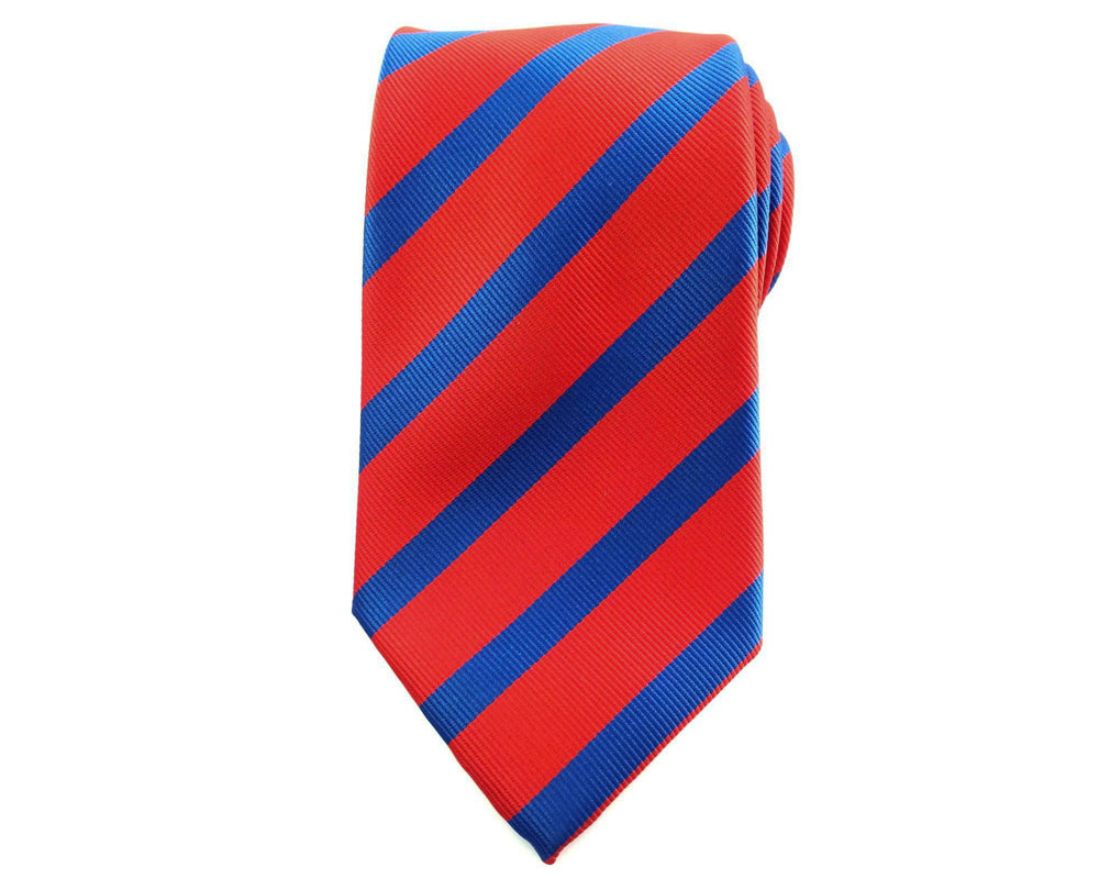 red blue stripe ties