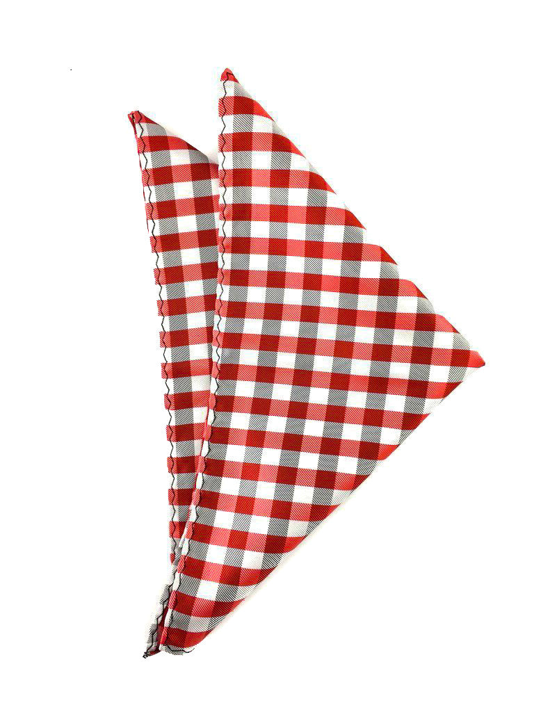red checkered hankies