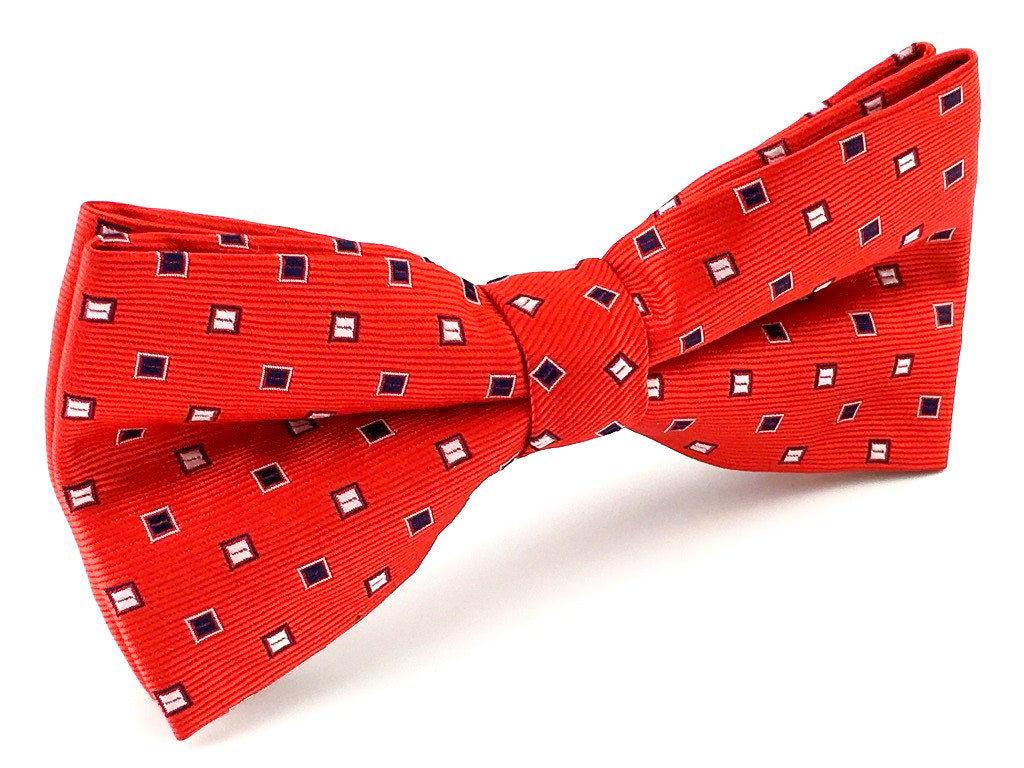 squares bow ties