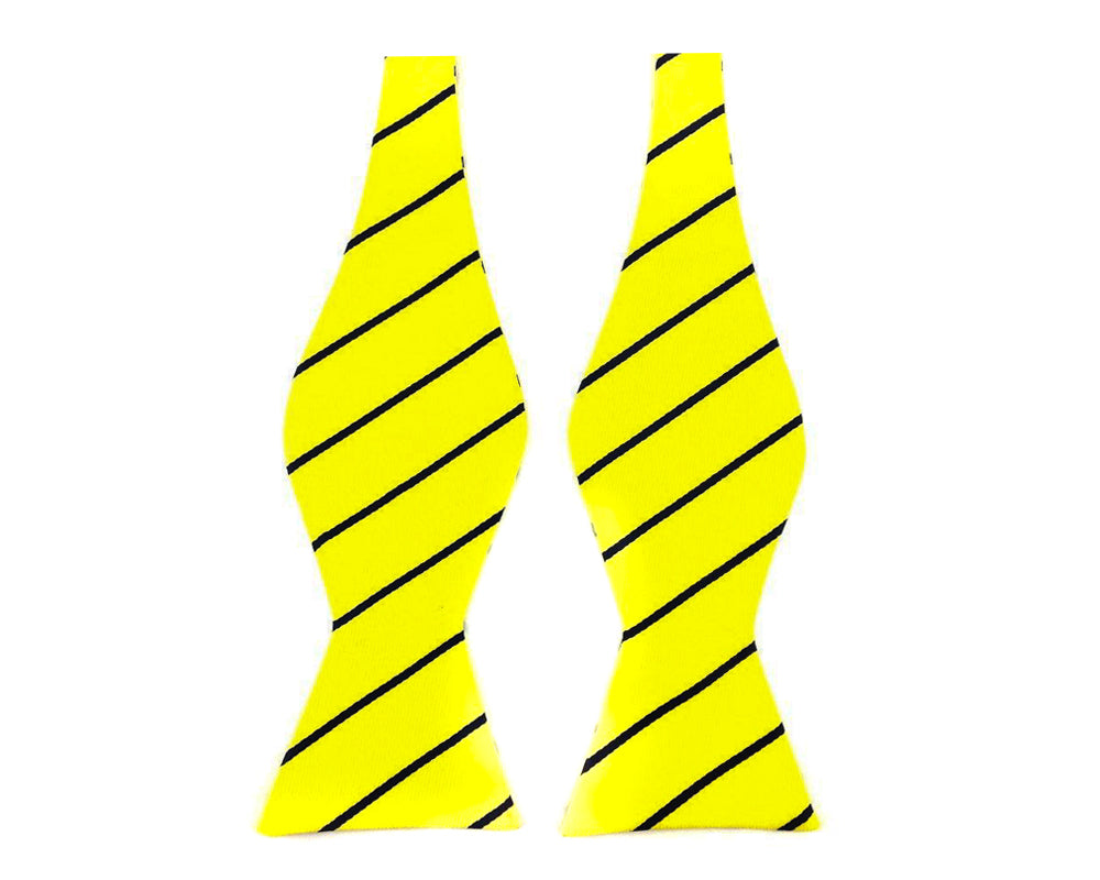 yellow mens bowtie
