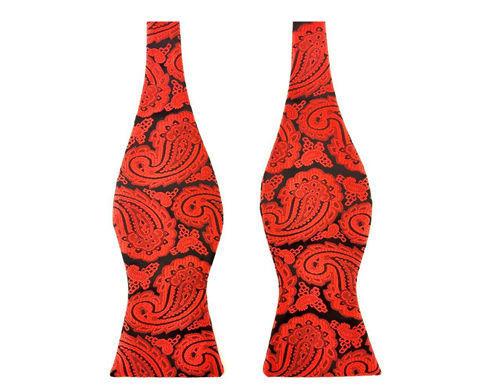wedding paisley bowties
