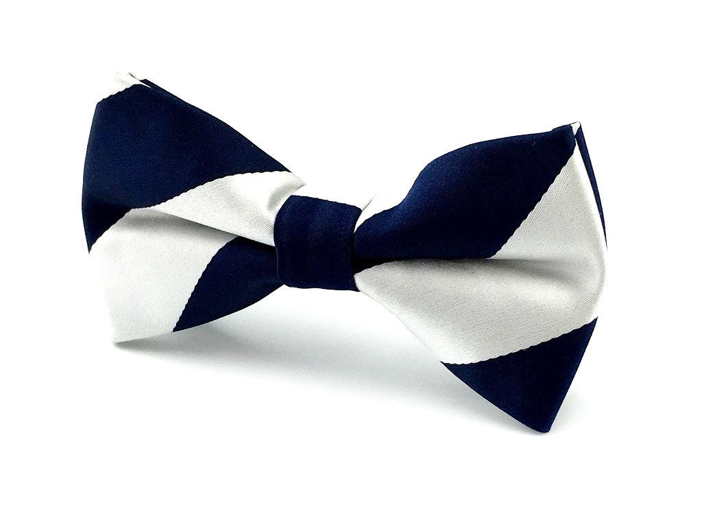 stripe wedding bowtie