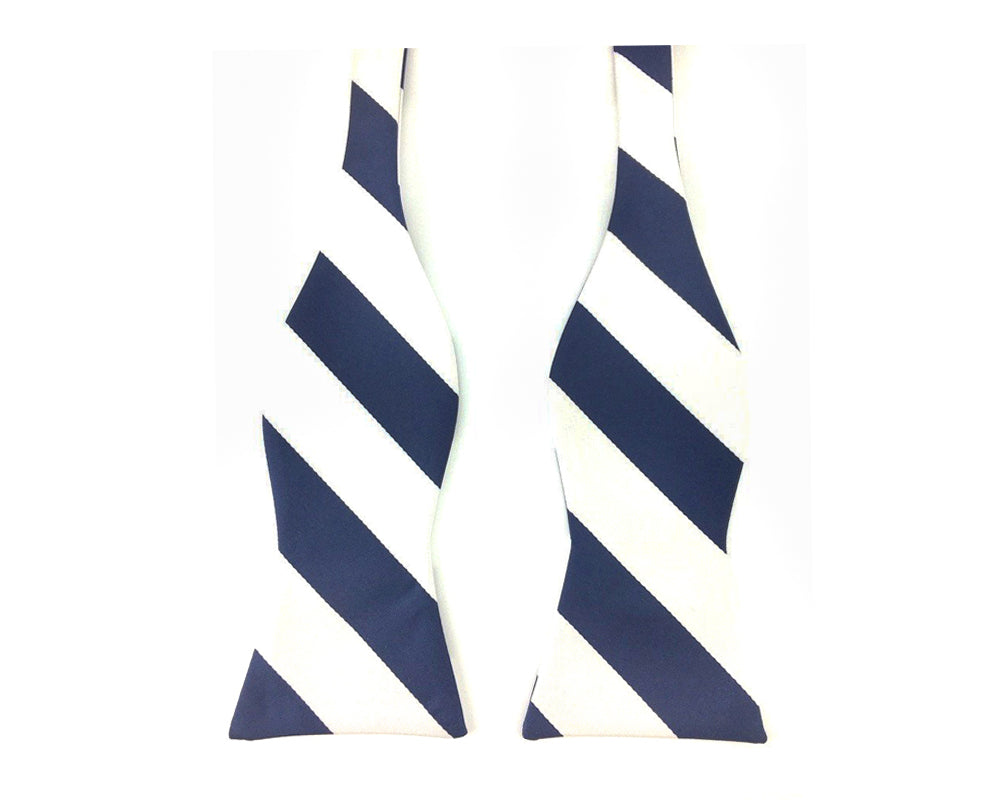 stripe self bowtie