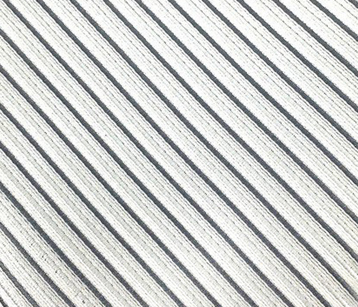 silver stripe swatch