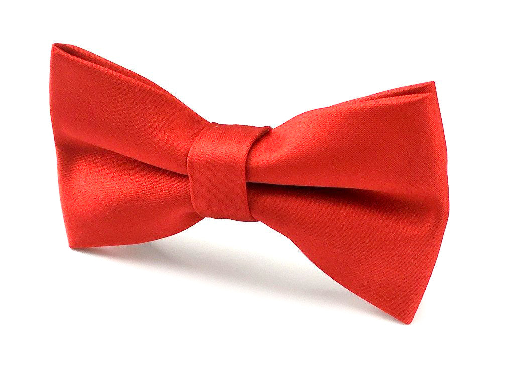 plain red bowtie