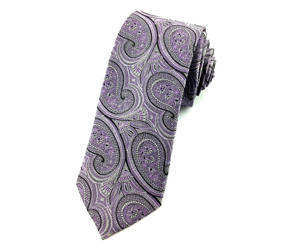 paisley slim neckties