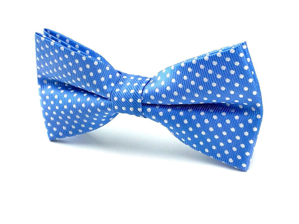 sky blue bow ties