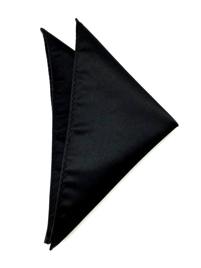 black hankies for wedding